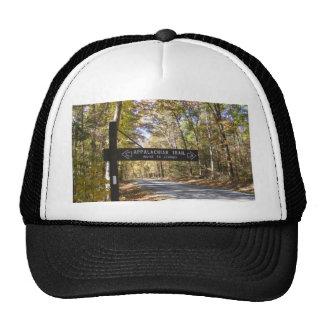 appalachian trail sign pennsylvania fall trucker hat