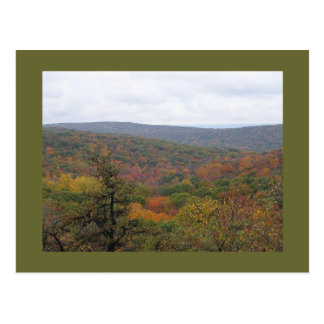 Appalachian Trail View Postcard