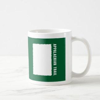 Appalachian Trail White Blaze Coffee Mugs