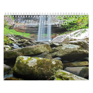 Appalachian Waterfalls Calendar
