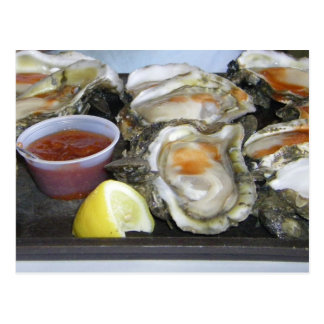 appalachicola oysters postcards