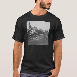 Appalling Accident at Farmington River  (B&W) T-Shirt