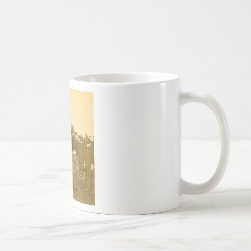 Appalling Accident at Farmington River (Sepia) Classic White Coffee Mug