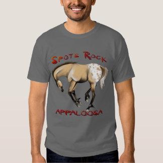 Appaloosa 1 de la roca de los *Spots Camisas