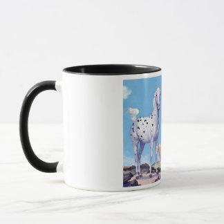 Appaloosa and Arabian Stallions Mug