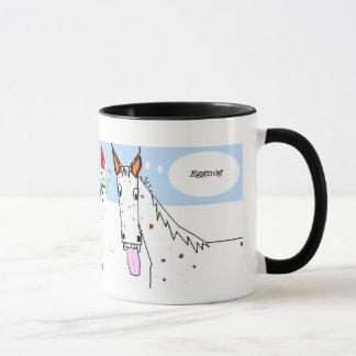 Appaloosa Christmas Mug: Journey series #4 Mug