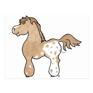 Appaloosa CommPony Postcard