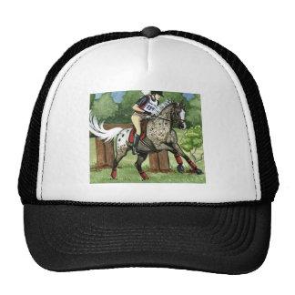 APPALOOSA Eventing del arte del caballo Gorros Bordados