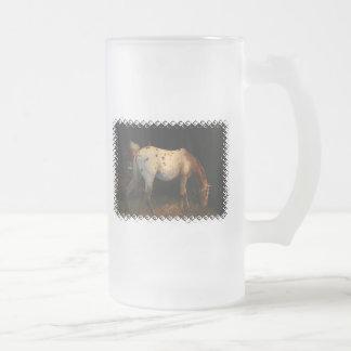 Appaloosa Frosted Beer Mug