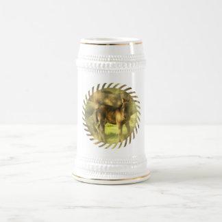 Appaloosa Horse Collage Beer Stein 18 Oz Beer Stein