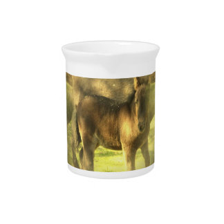 Appaloosa Horse Collage Pitcher