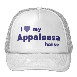 Appaloosa horse trucker hat