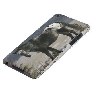 Appaloosa Horse in the Snow iPod Touch Case-Mate Case