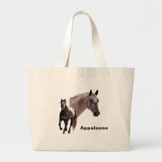 Appaloosa Horse Large Tote Bag