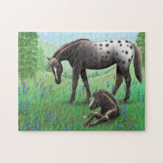 Appaloosa Horse Love Puzzle