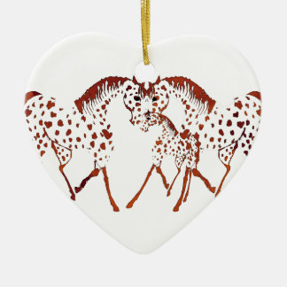 Appaloosa horse lover gifts and apparel ceramic ornament