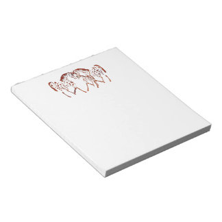 Appaloosa horse lover gifts and apparel notepad