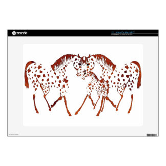 Appaloosa horse lover gifts and apparel skins for laptops