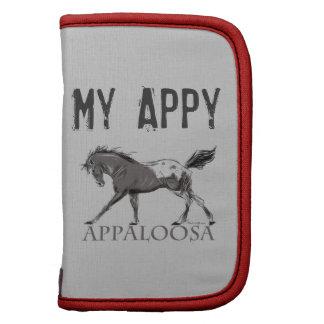 Appaloosa Horse Folio Planner