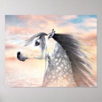 Appaloosa horse poster