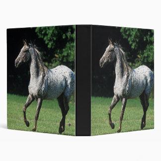 Appaloosa Horse Running 2 3 Ring Binder