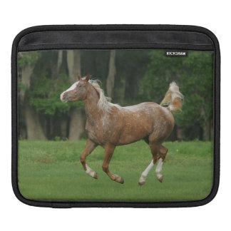 Appaloosa Horse Running iPad Sleeve