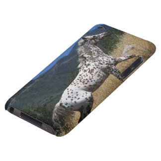 Appaloosa Horse Running up Mountain Barely There iPod Case