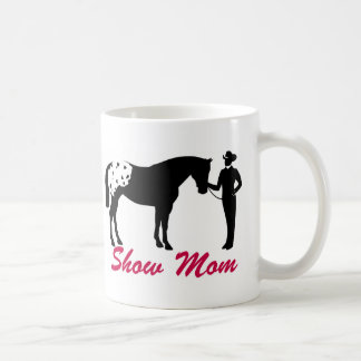 Appaloosa Horse Show Mom Coffee Mug