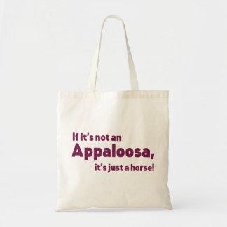 Appaloosa horse tote bag