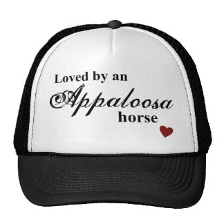 Appaloosa horse trucker hat
