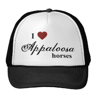Appaloosa horses trucker hat