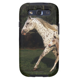 Appaloosa Mare And Foal in Field Galaxy S3 Covers
