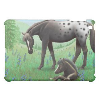 Appaloosa Mare and Foal Case For The iPad Mini