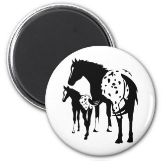 Appaloosa Mare and Foal Magnet