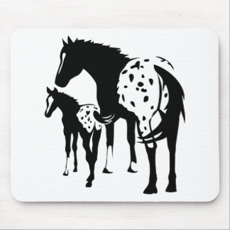 Appaloosa Mare and Foal Mouse Pad