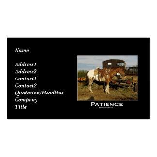 Appaloosa Motivational Business Card