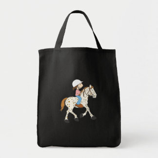 Appaloosa Ride Grocery Tote Bag