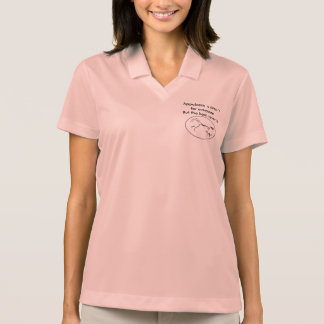 Appaloosa´s aren´t for everyone.  Dry fit sport T Polo Shirt