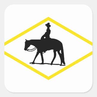 Appaloosa Silhouette Square Sticker