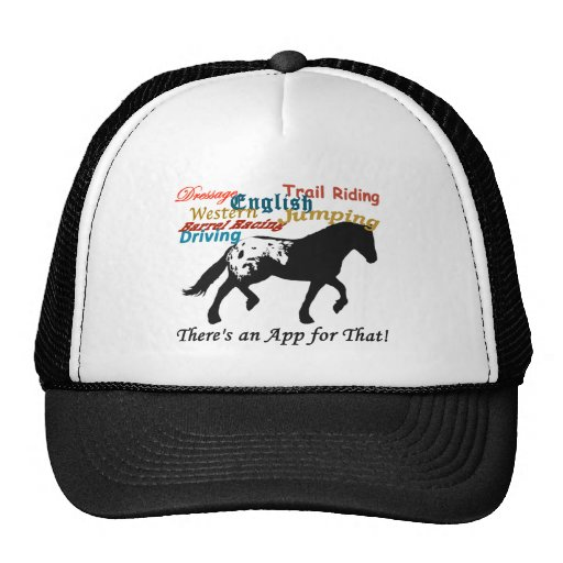 Appaloosa Trucker Hat