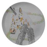 Appaloosa Unicorn Gift Products Dinner Plate