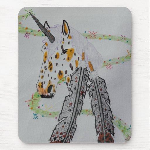 Appaloosa Unicorn Gift Products Mousepads