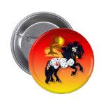 Appaloosa War Pony - background Button