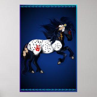 Appaloosa War Pony large Poster