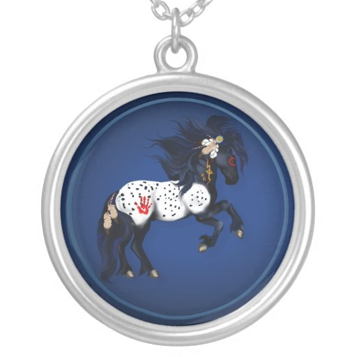 Appaloosa War Pony Necklace