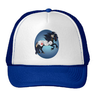 Appaloosa War Pony Oval Hat
