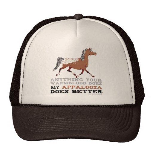 Appaloosas Do It Better Mesh Hat