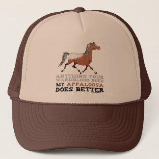 Appaloosas Do It Better Trucker Hat