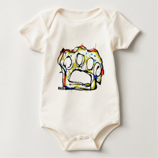 Apparel- Brass Knuckles design Baby Bodysuit