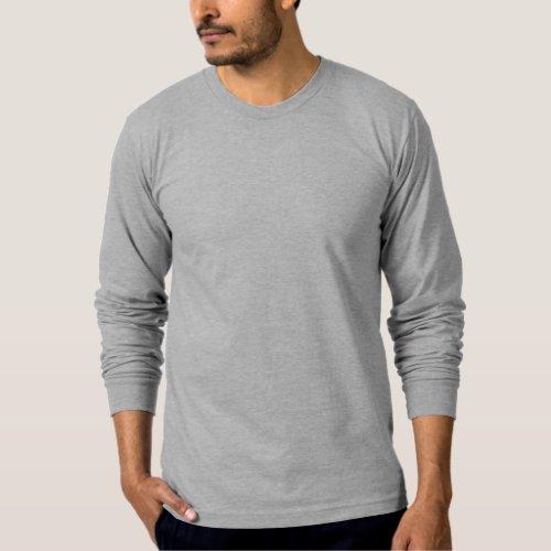 Apparel Fine Jersey Long Sleeve T_Shirt 11 colors